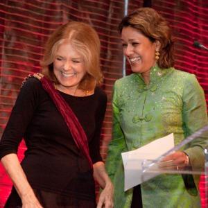 Anika Rahman w/ Gloria Steinem