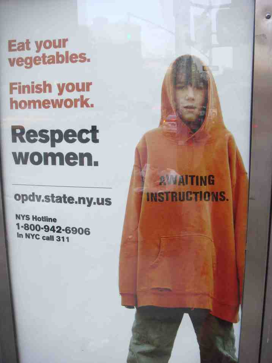 New York bus stop. Photo: Naeem Mohaiemen