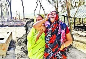 319 attacks on Hindu properties in 24 days © Prothom Alo