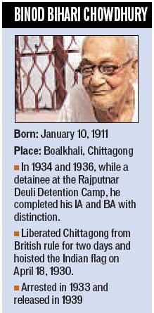 Binod Bihari Chowdhury_bio