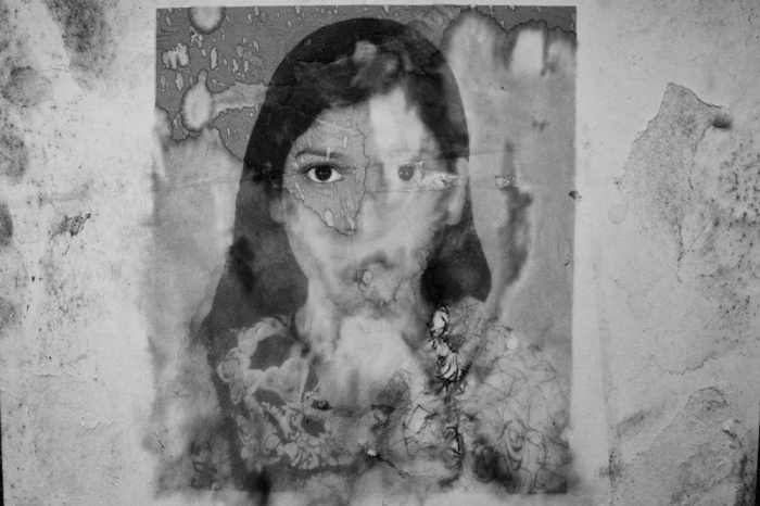 © Suvra Kanti Das  Missing poster at Adhar Chandra school wall. Name: Ashma Aktar from Khulna.