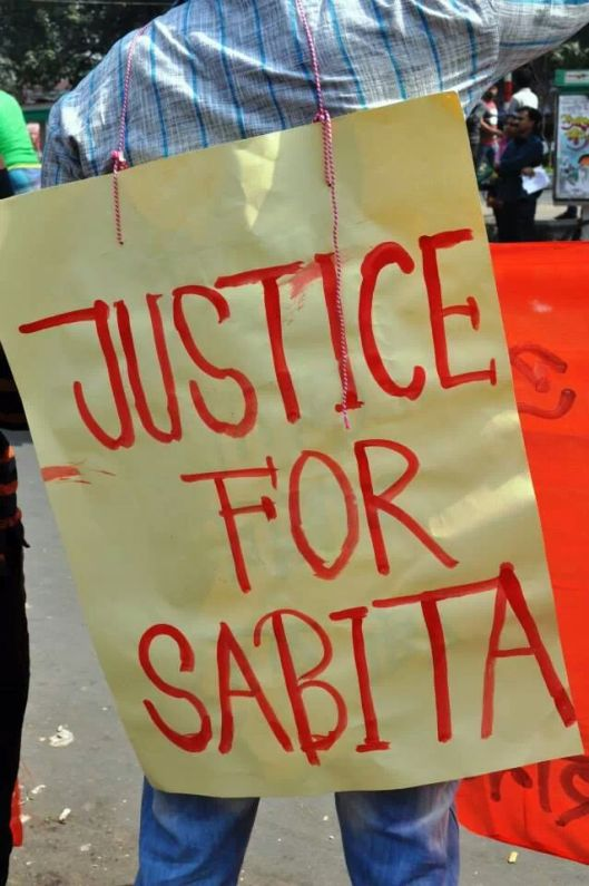 Justice for Sabita. © Trimita Chakma.