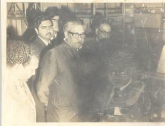 With Sheikh Mujibur Rahman