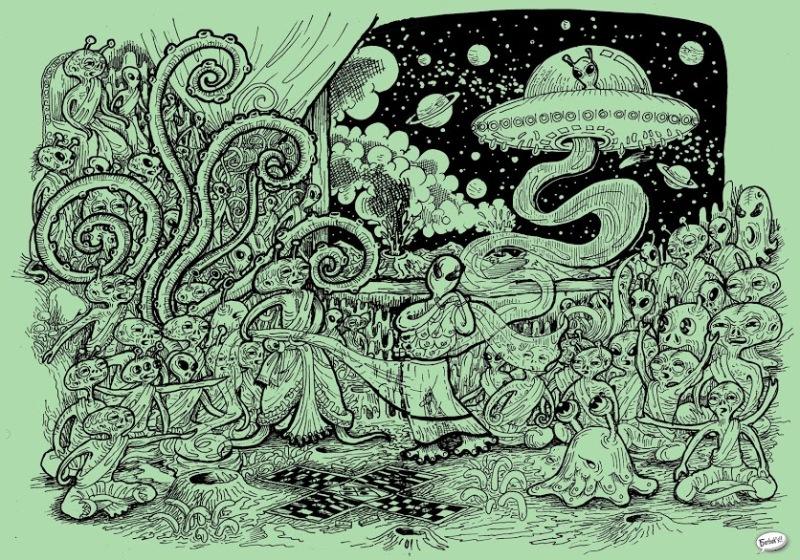 An alien adaptation of the Mahabharata.