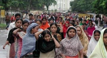 Garments workers
