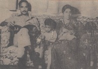 [L to R] Ziaur Rahman, Tarique Rahman, Khaleda ZIa, Arafat Rahman. Photographer: Unknown.