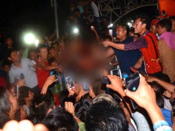 Lynching, CellPhone Images. ©ABPLive